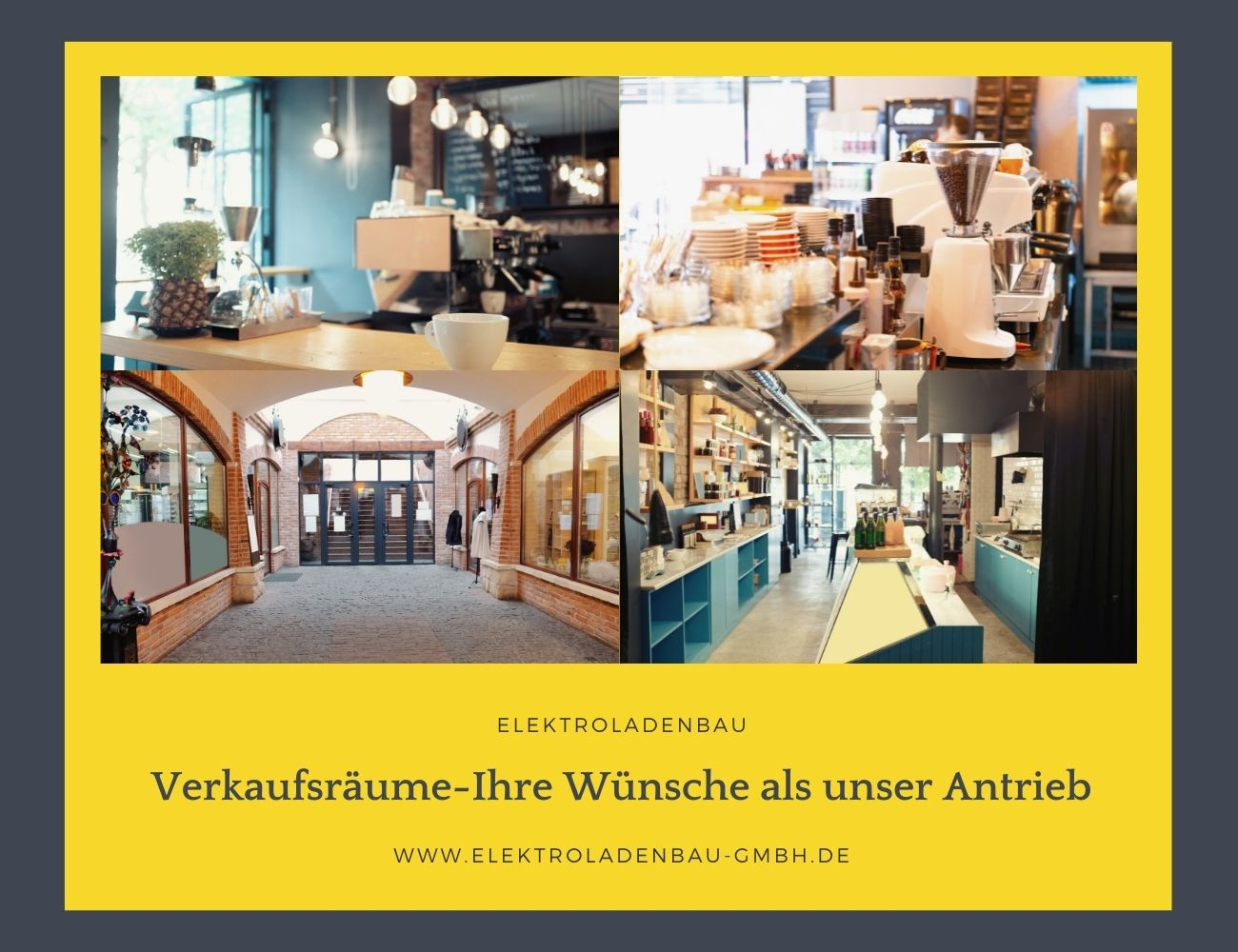 E.L.B. Elektroladenbau Verkaufsräume Solingen und Düsseldorf